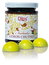 Dips & Fifth Dimension Chocolates collaboration - Lemon Chutney Chocolate