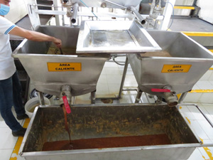 Modern equipment for panela production